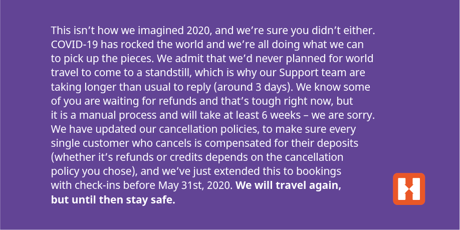 Changing your travel plans? Please take a few moments to read the below message. All the info you need, and a link to our Support team's contact form, can be found here: https://t.co/bzMhFYPC1z https://t.co/Xev3yK74S2