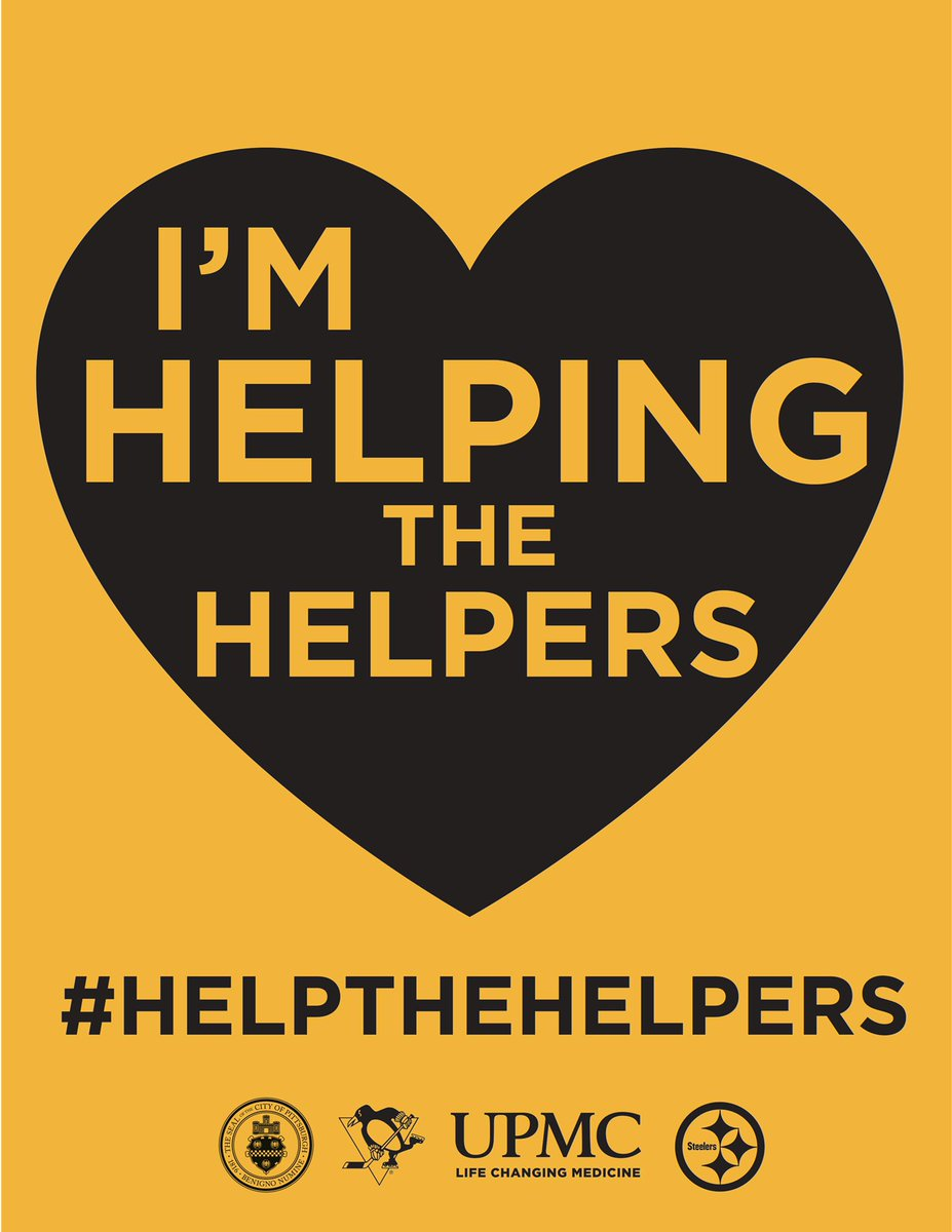 We are a city of #helpers. Together with @UPMC, @Steelers, & @Penguins we're inviting #Pittsburgh to show support for frontline workers. • Print this poster to hang at home. • Use a Facebook frame. • Tell us how you #HelpTheHelpers. Posters & frames: pages.upmc.com/help-the-helpe…