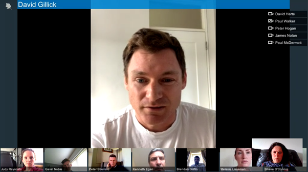 Thank you to Minister @BGriffinTD for the call this morning with the OFI Athletes' Commission. We were grateful for the option to discuss with him the many challenges that athletes currently have training in isolation, but also proud to promote the resilience of Irish athletes.