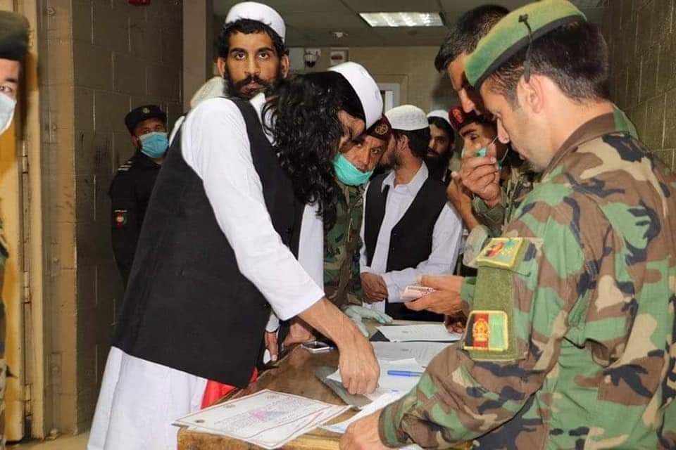 In Pictures: Released Taliban prisoners