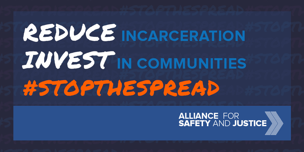 In order to #StopTheSpread, we must do two things, and we cannot falter in our path forward: