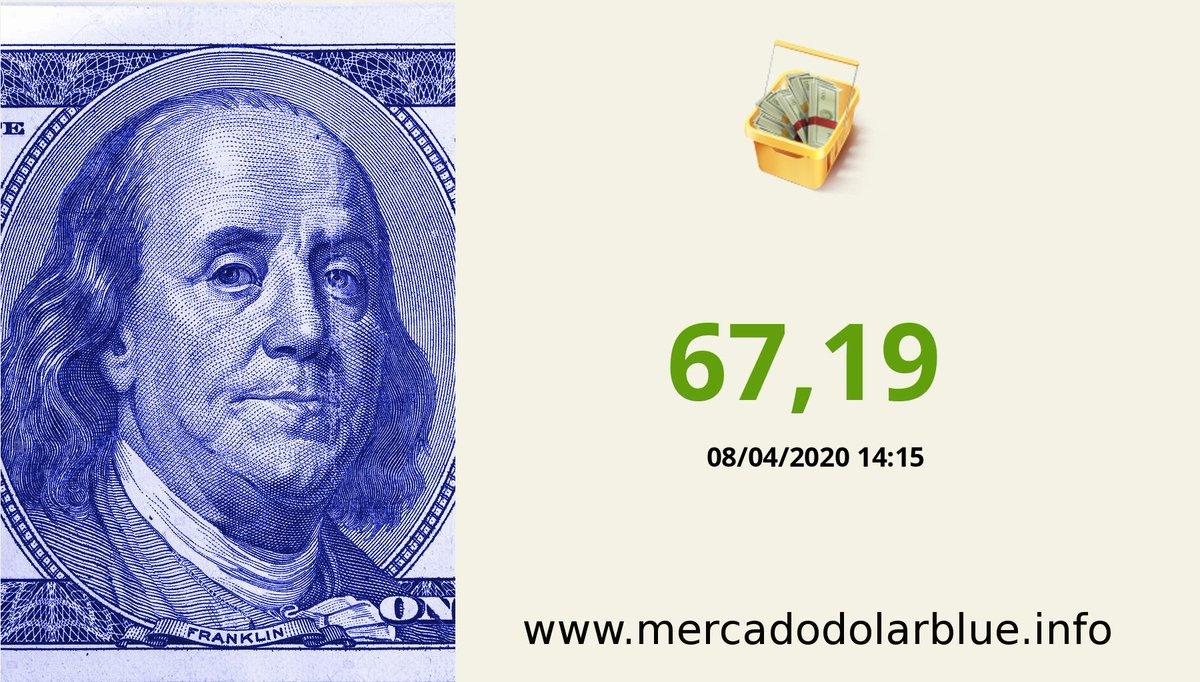 #Blue #DolarParalelo #Argentina  #DolarOficial: 67,19 #DolarBlue: 85,00 #EuroBlue: 92,40 #DolarEuro: 1,0871