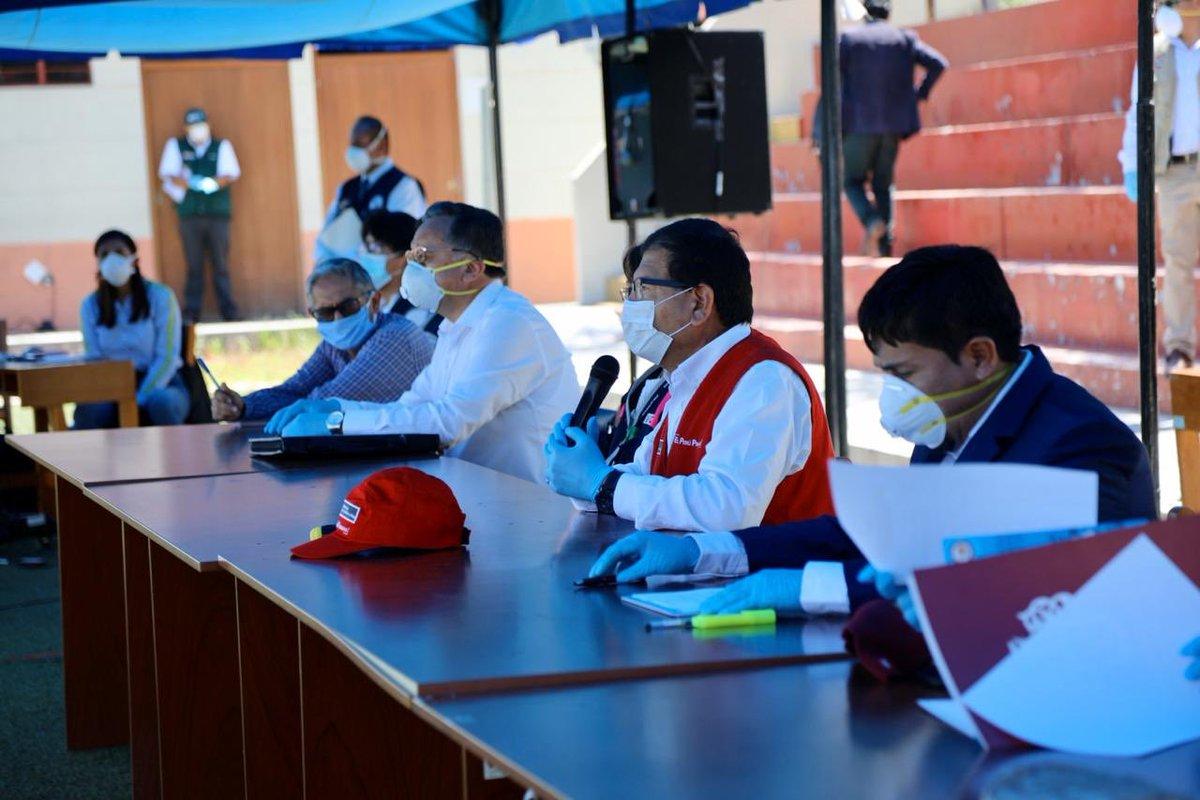"MINAGRI - PERÚ on Twitter: ""Arequipa | Ministro @JLMONTENEGROCH ..."