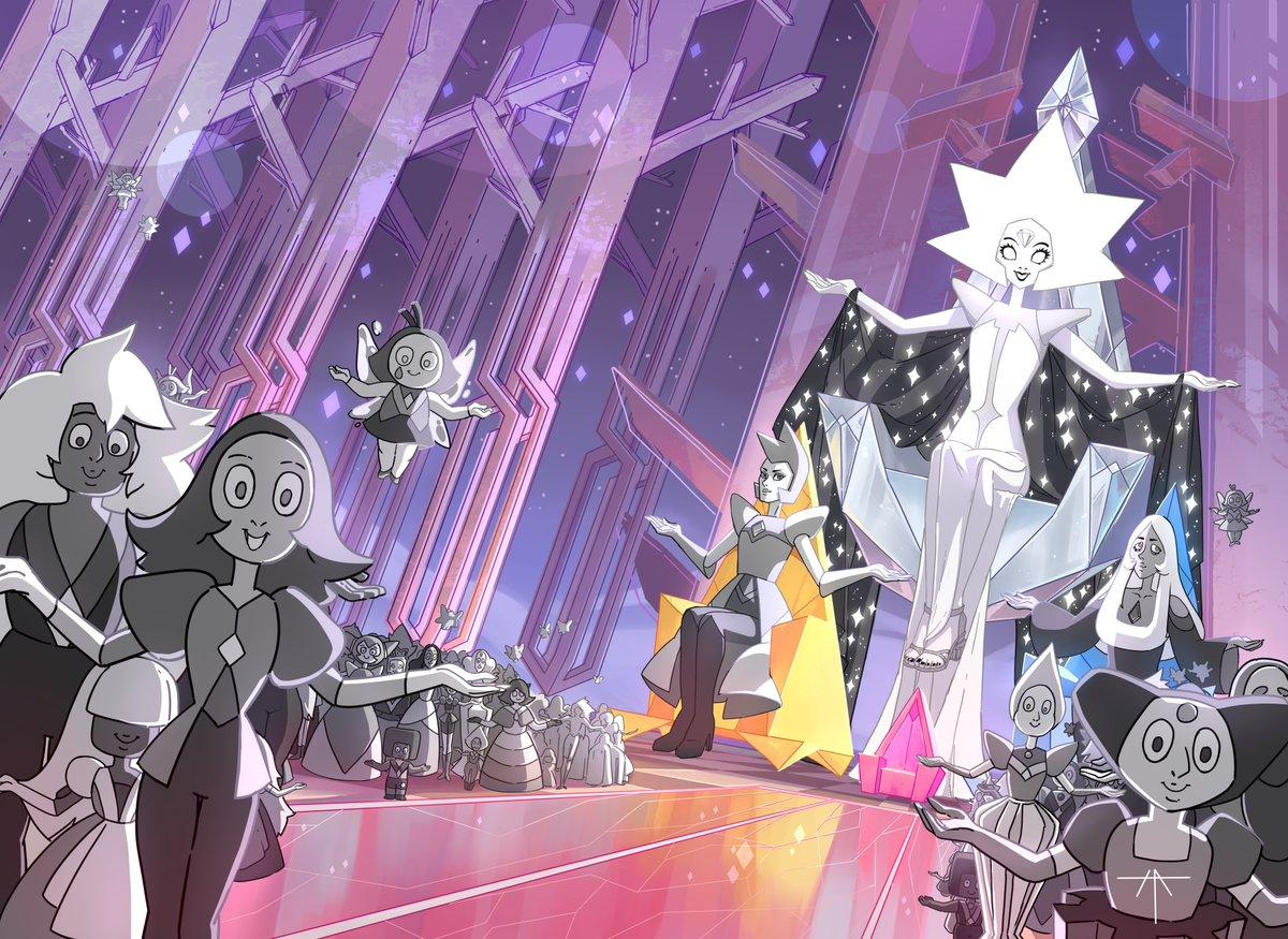 #white_Diamond #HellAlka #StevenUniverse #SU #gems #Diamond #art #digitalart  My old fanart of White Diamond from SU✨