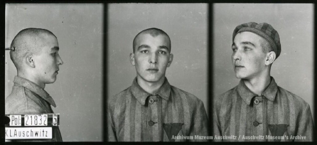 8 April 1923 | Slovenian Milan Savić was born. A metal turner.  In #Aushcwitz from 17 October 1941. No. 21832 (political prisoner) He perished on 19 August 1942.pic.twitter.com/OvBag4kdPh