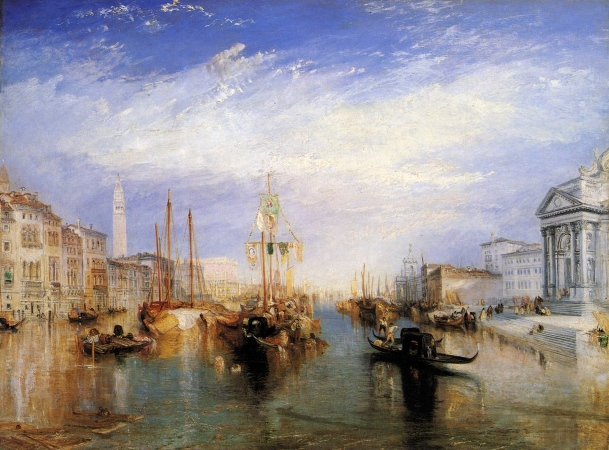 The Grand Canal, Venice, engraved by William Miller #williamturner #englishart pic.twitter.com/Sm18WBpbwv