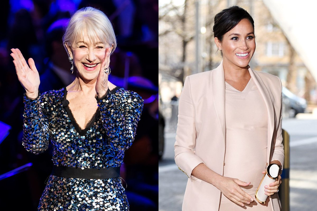 Helen Mirren Says Meghan Markle Was A LOVELY Addition to the Royal Family! https://bit.ly/3abKpWM  #HelenMirren #MeghanMarkle #Royalspic.twitter.com/PvktCt0Q78