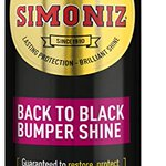 Image for the Tweet beginning: Simoniz Back to Black bumper