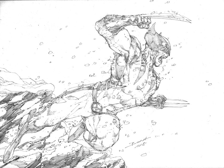 Wolverine by @Demonpuppy #Wolverine