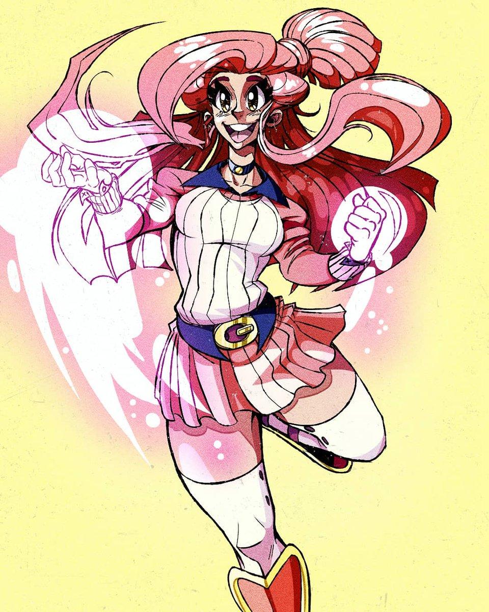 #anime #animegirl #art #artist #digitalart #drawing #draw #illustration #instagramartist #artistsoninstagram #cartoon #characterdesign #animation #manga #cute #color #girl #magical #instaartist #comics #artistsupport #supportartists #artoftheday  #artistic #animeart #sketch