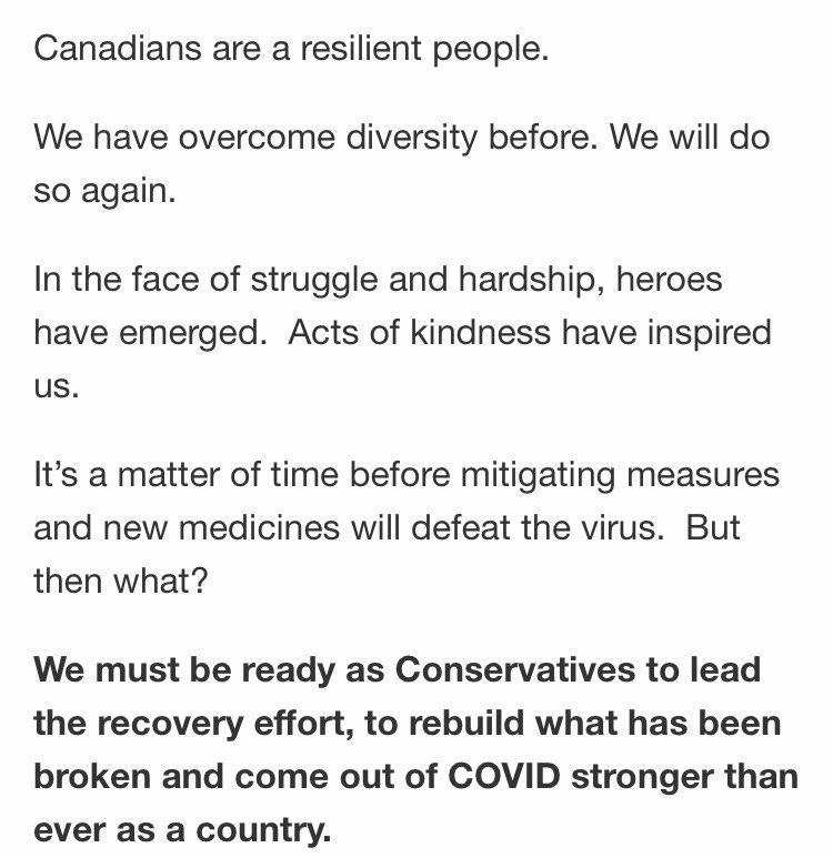 "Latest @PeterMacKay email: ""We have overcome diversity before. We will do so again.""  ...  #cdnpoli pic.twitter.com/8eM1nBRPu2"