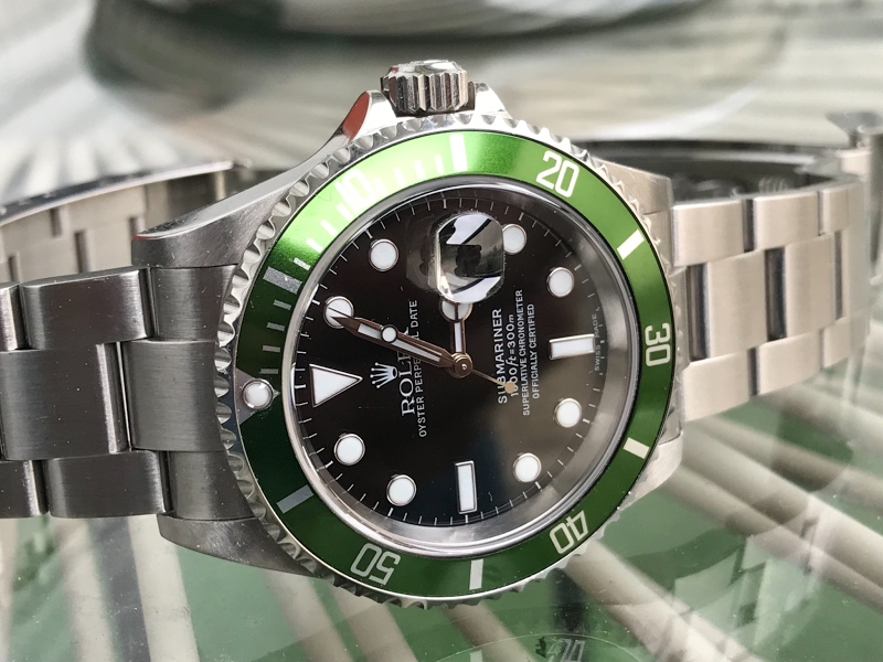 Green is for hope. Much needed latelyhttps://tinyurl.com/rhb727n #Rolexpic.twitter.com/gb6ONdQpwM
