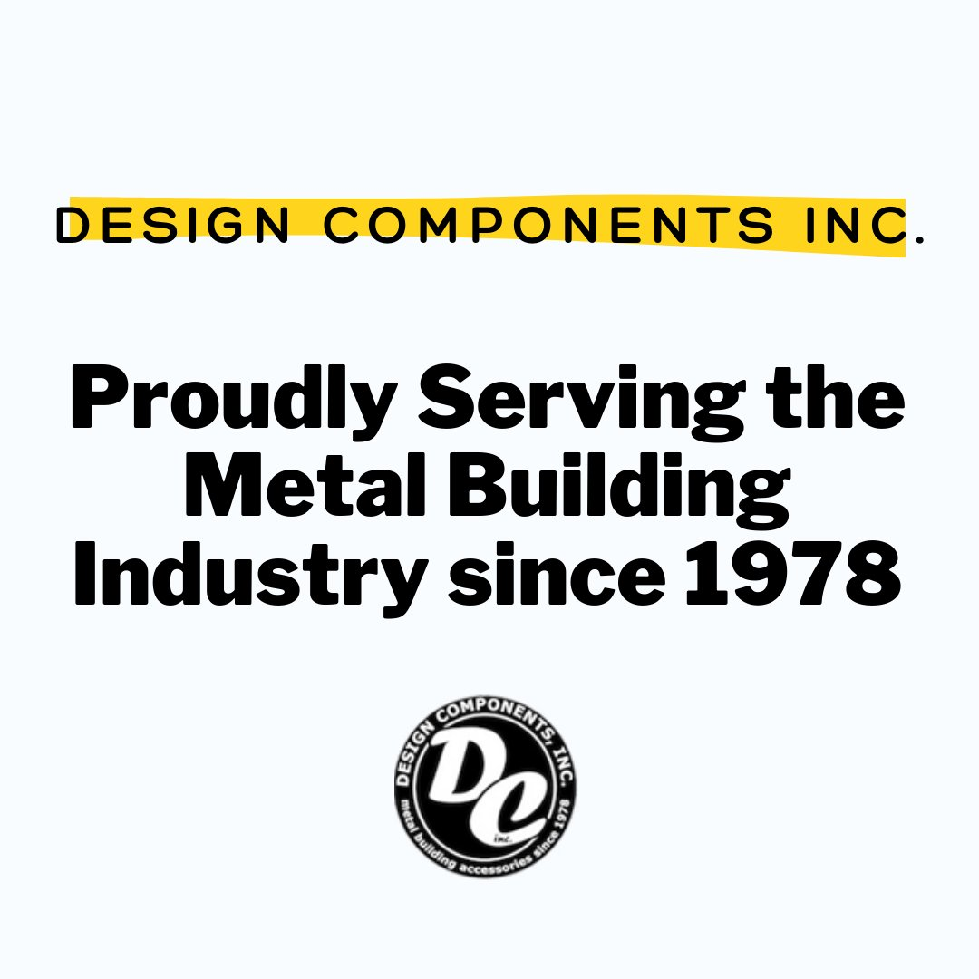 Design Components Inc. is the only call you need to make when shopping for Metal Building Accessories, so why wait? Call or contact us to get a free quote today:    #metalbuilding #accessories #safety #osha