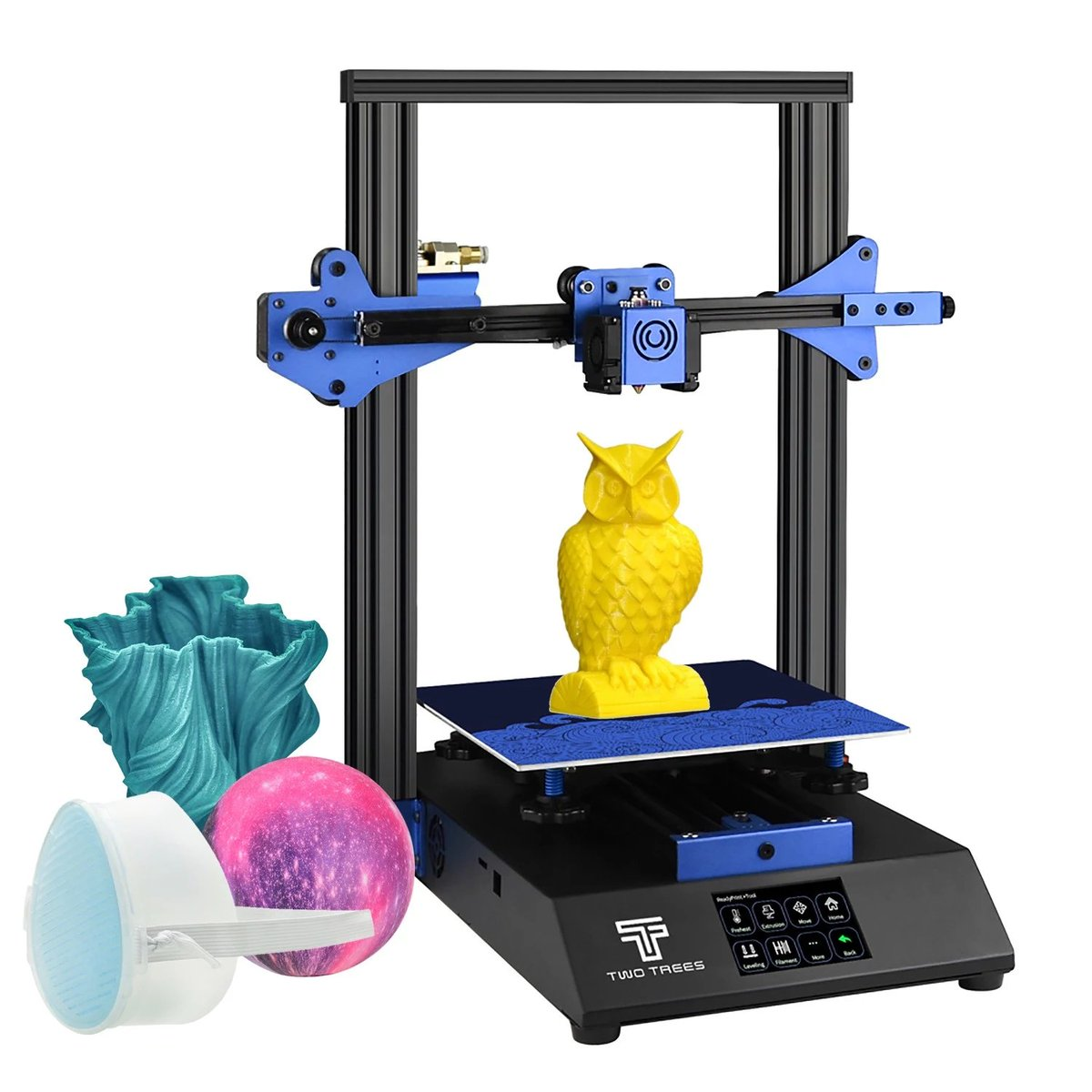 TWO TREES BLUER #3DPrinter #DIY Kit Sheet Metal Structure Silent Printing 235*235*280mm   Heated Bed Resume Print Filament Run Out Detection Function 4G TF Card  $190.63   #cashback -   #3dprinter #3dprint #3dmodelling #homework