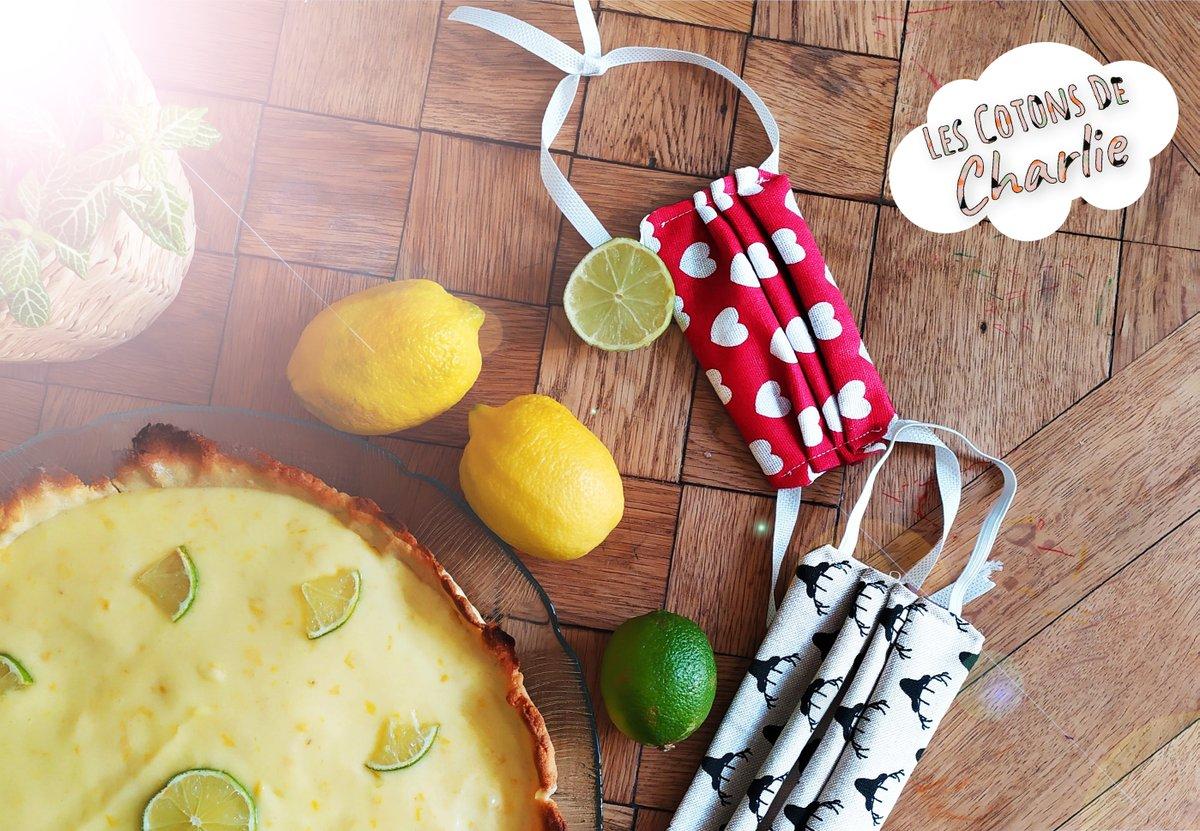 😋Miam! Tarte au citron maison🥧, une idée à dévorer devant la nouvelle collection de ma boutique 😍 RDV sur 👇   #bio #tissu #tendance #beautiful #picoftheday #love #enfant #faitmain #handmade #zerodechets #lingettesdemaquillantes #lingetteslavables