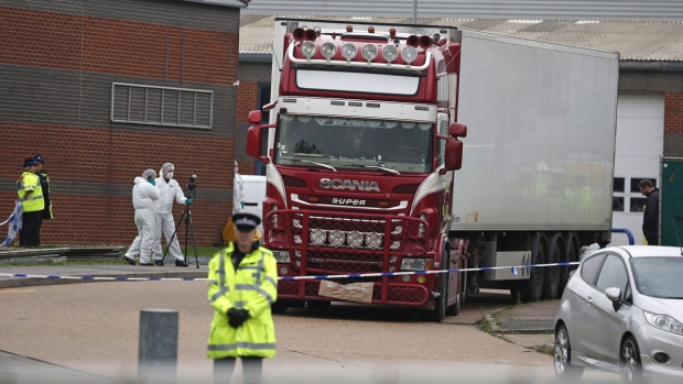 U.K. truck driver pleads guilty in deaths of 39 Vietnamese