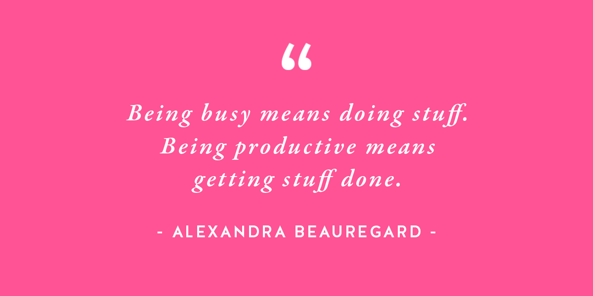 Break up with busy and be productive instead!! http://bit.ly/2sClvP5 #productivity #entrepreneurlife #solopreneur pic.twitter.com/aGbu888SIe