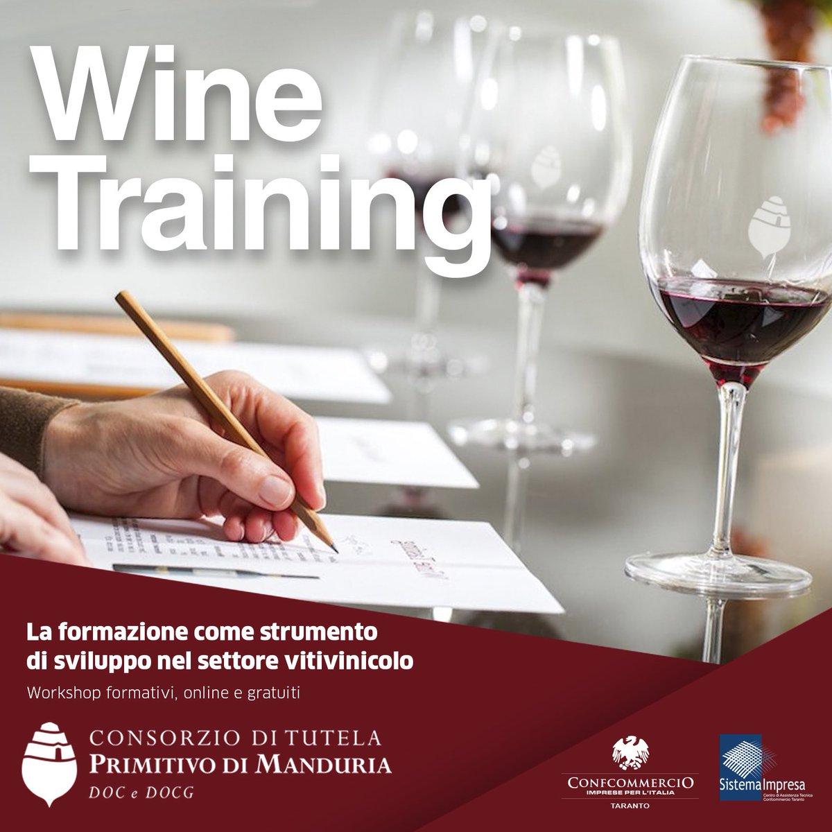 La formazione sul #vino non si ferma: #workshop online gratuiti per le aziende della #DOC.   http://bit.ly/PdM_WineTraining…   #PrimitivodiManduriaDOP #Winelovers #Puglia #Wine #Winetrainingpic.twitter.com/NNsyicZ4Lv