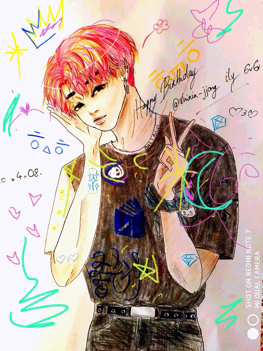 I'm the most stoopid person ever for being so late but HAPPY BIRTHDAY @shinin_jjong MY LOVELY FRIEND WHO SHARES BIRTHDAY WITH JONGHYUN  I hope you had the happiest day ever, and that Full Pink Moon blessed you for the days coming I wish you the best  take care 6v6pic.twitter.com/uFsbeb5xZO