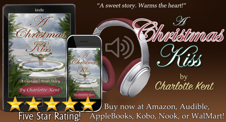 NOW in Audio! A Christmas Kiss written by @CharlotteKent20 and narrated by Lara K. Crawford  and  or  #Christmas #Romance #Nook #Kobo #Walmart #Audiobook #BookBoost #TW4RW #SNRTG #IARTG #authorRT ♥