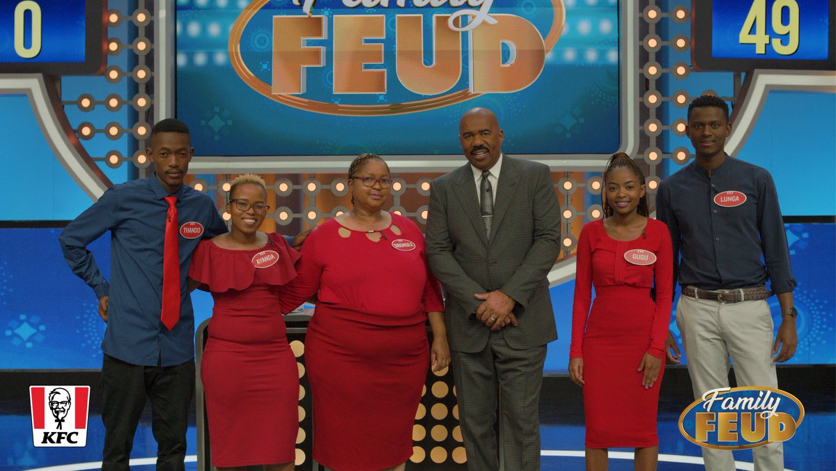 Are you ready for the next families on Family Feud? Gugu, the team captain, is an IT student and gym freak. Meet the rest of the Sibanyoni Family this Sunday at 18:00 on http://e.tv  #FamilyFeud #FamilyFeudAfrica #FeudAfrica #SteveHarvey #SteveHarveyInAfrica #etvpic.twitter.com/vLzD1YWdTW
