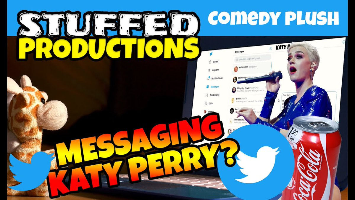 Theres a mix up involving some Coke and Bongani chats with superstar Katy Perry in this latest comedy video!   #Animals #Coke #Comedy #Film #Funny #Funnyvideo #Haha #Indie #KatyPerry #Lol #Plushies #ShortFilm #WebSeries #YouTube