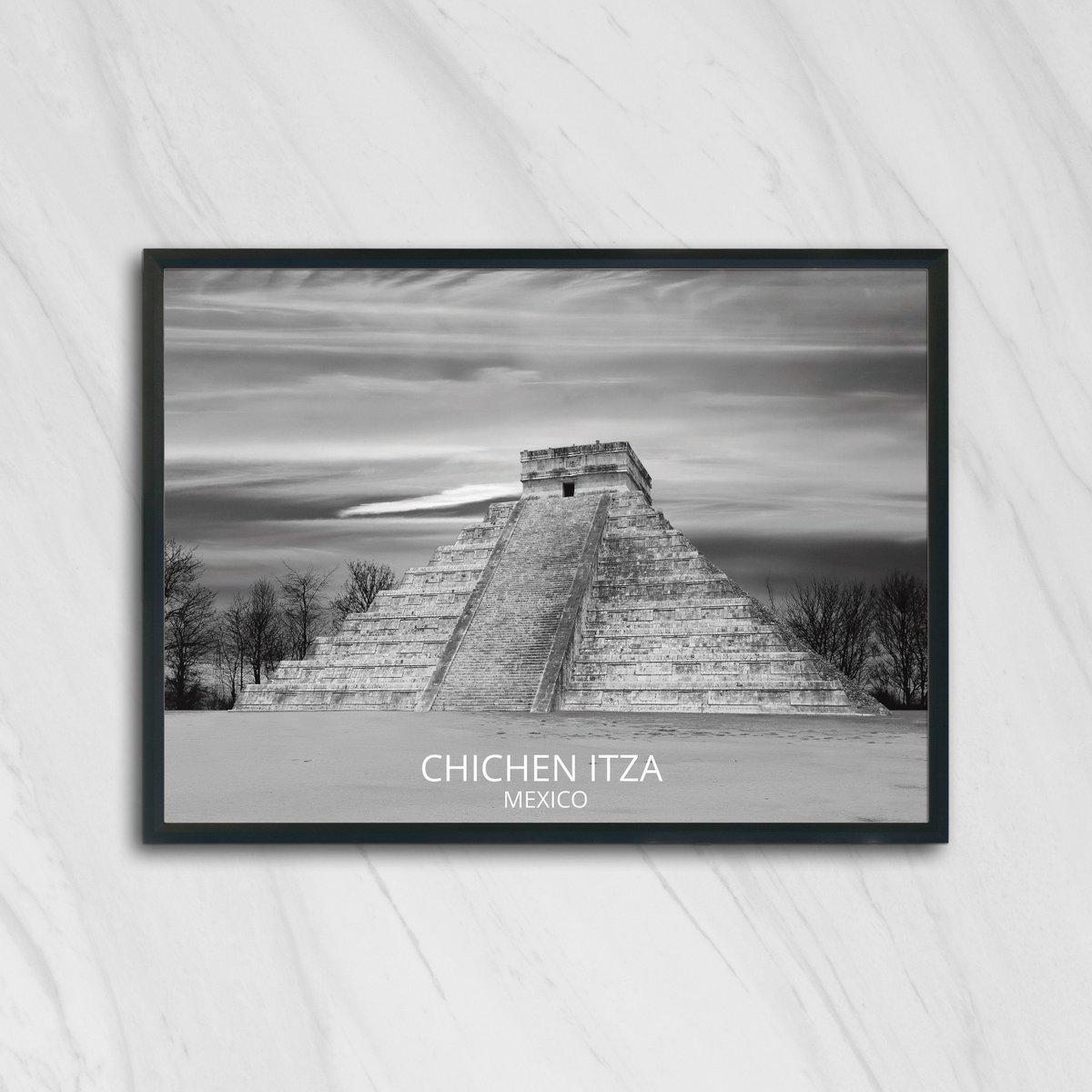 Excited to share the latest addition to my #etsy shop: Chichen itza, mayan ruins, mayan wall art, mayan decor, mayan art, mayan aztec, mayan print, mayan designs, mayan symbols, mayan symbols  #art #drawing #black #moving #christmas #white
