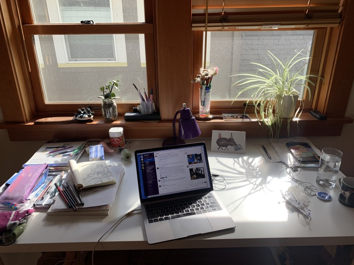 Wirecutter On Twitter Lead Editor Kingthor S Battlestation Which Is Outfitted With Multiple Wirecutter Picks Like The Herman Miller Sayl Office Chair Https T Co Tsu16jehd0 Https T Co Qinmoamkht