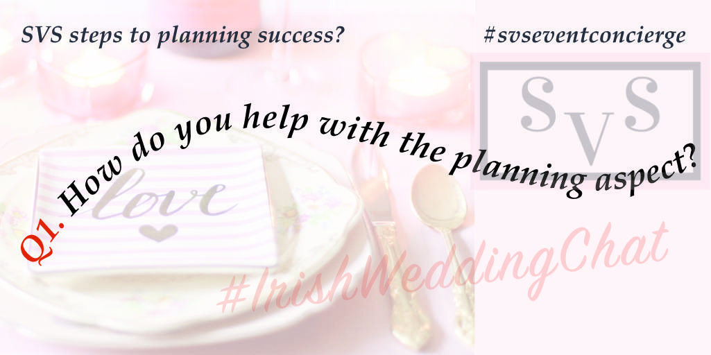 Q1 How do you help with the planning aspect