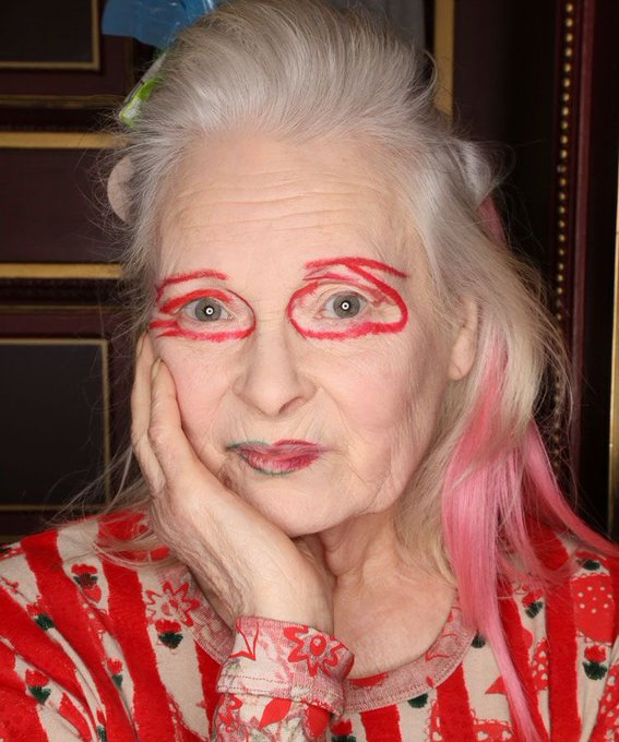 Wish you a Happy Birthday and great year ahead    Vivienne Westwood