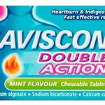 Image for the Tweet beginning: Gaviscon Double Action Tablets Heartburn