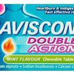 Image for the Tweet beginning: Gaviscon Double Action Tablets Heartburn