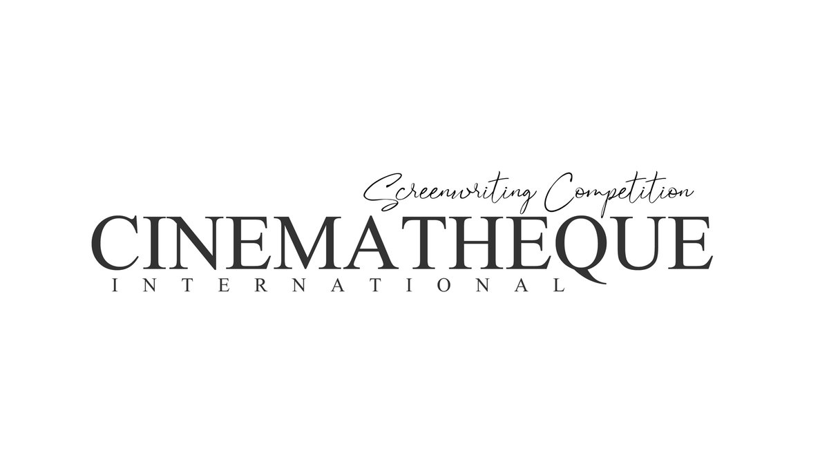 Excited to announce the launch of the first annual Cinematheque International Screenwriting Competition through Robot Blonde. Features only. Winner gets $200. Top five get specialized feedback. Production consideration. http://cinematheque.robotblonde.net/ #film #screenwriting #submissionspic.twitter.com/EYzOb43EMp