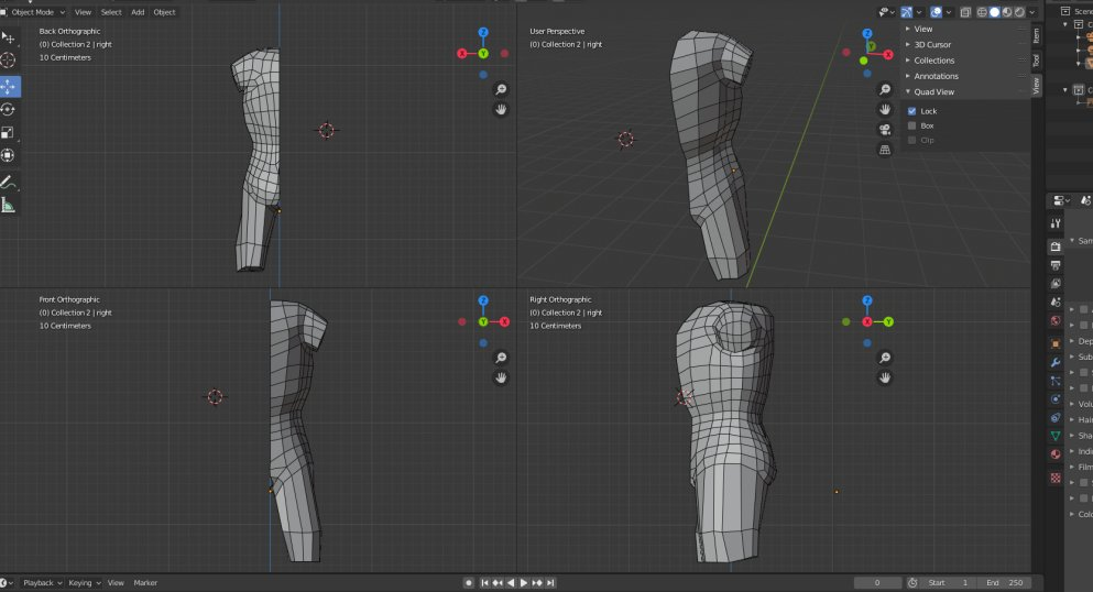 Trying to remember my skills from Maya and translate them into Blender. Topology is hard but I'm trying to build it as I go for good thoughtful practice. #Blender3D #3Dart