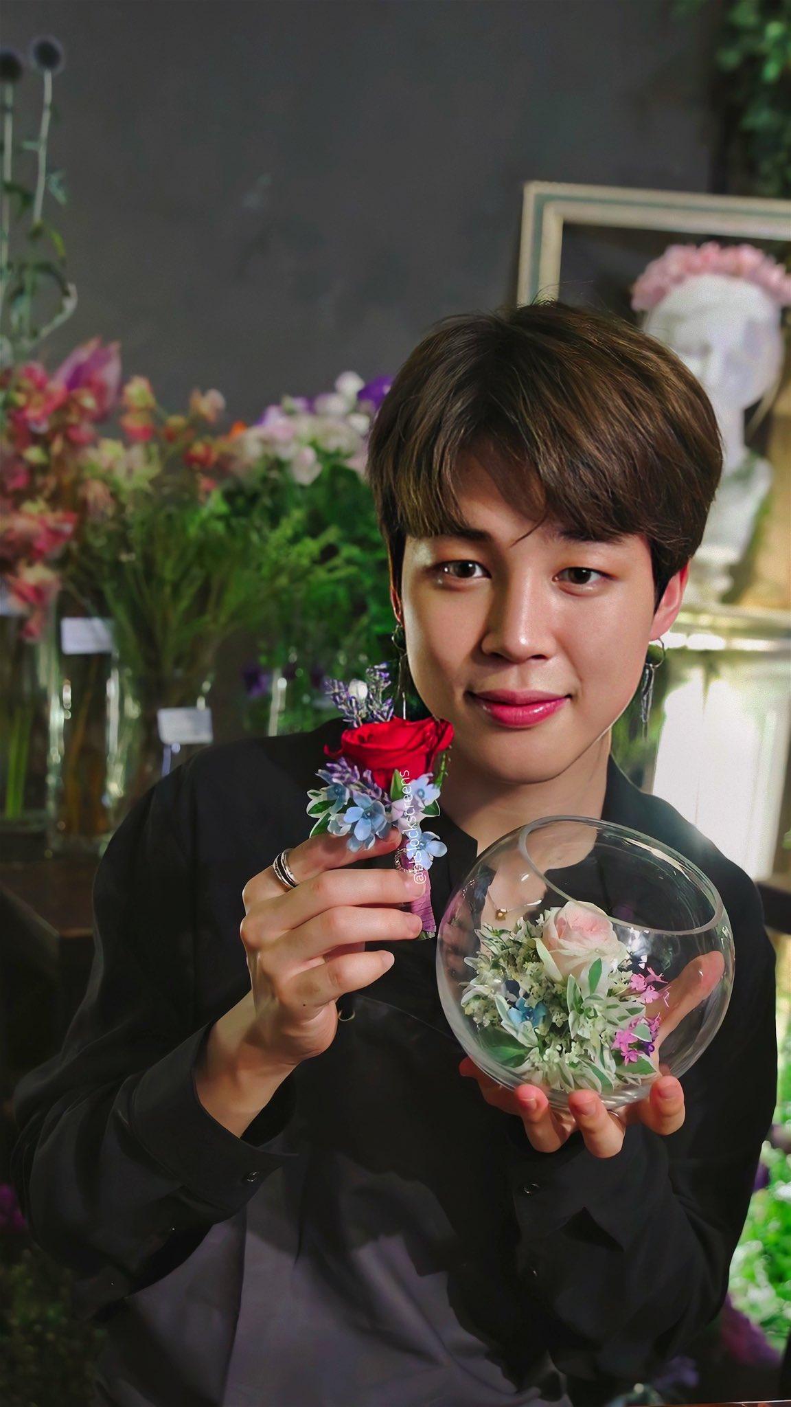 ดอกไม้ประจำวันเกิด BTS - จีมิน