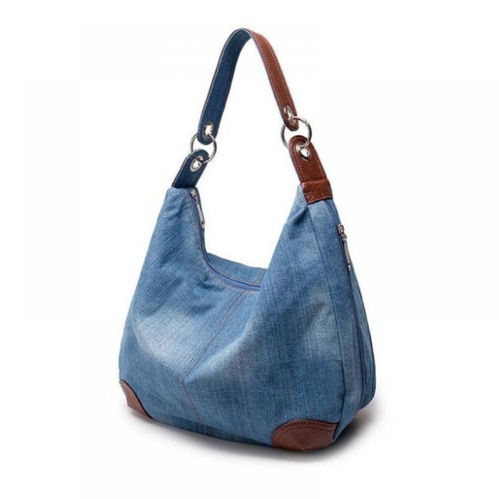 #shopping #tech #fashion Women's Denim Hobo Bag