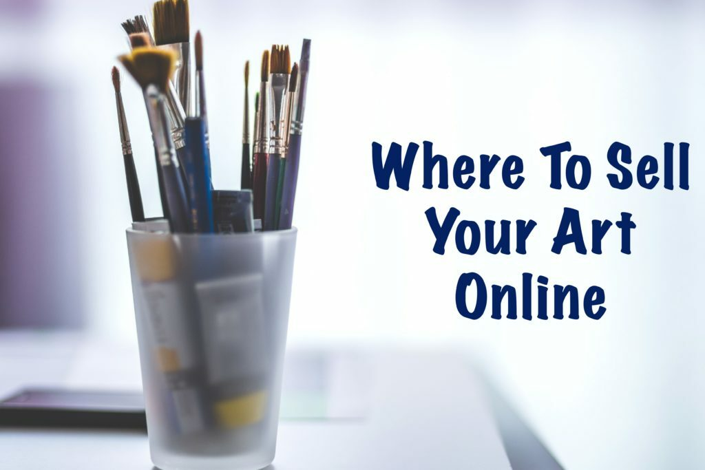 Where to Sell Your Art Online. Find the one that fits your needs!  #artists #artwork #arttips #lifeofanartist #starvingartist