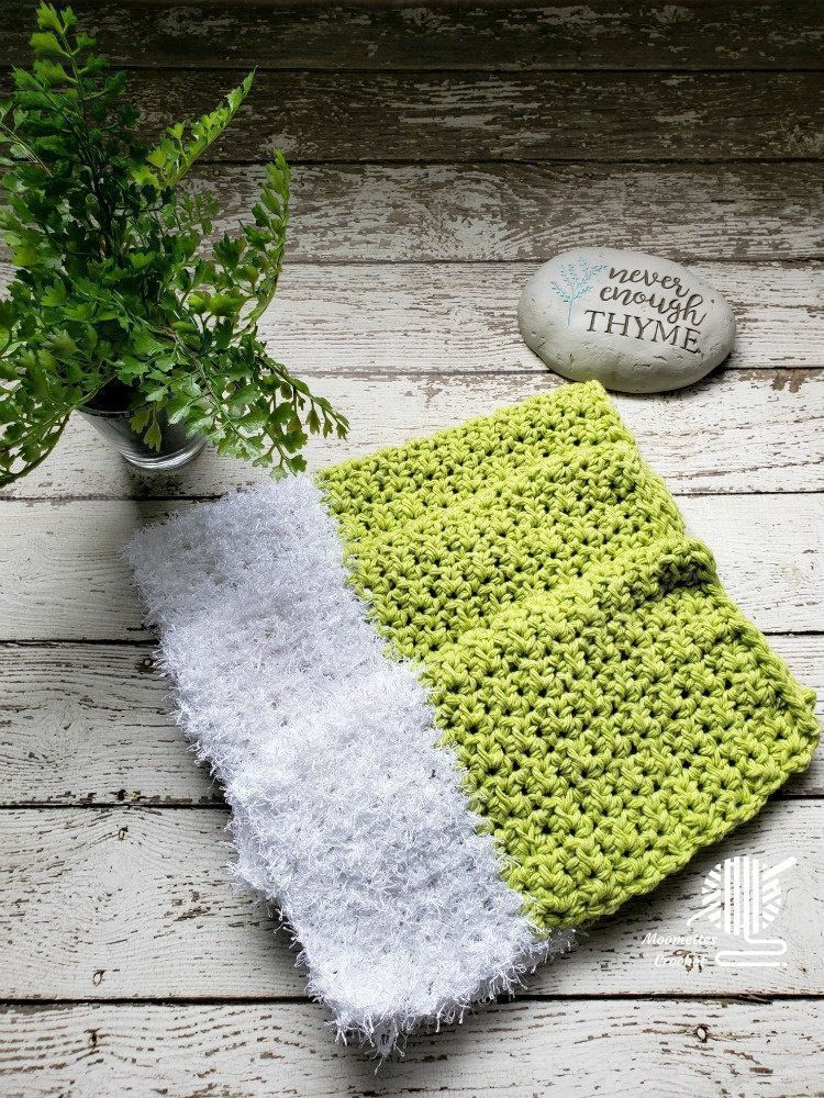 #Reusable Handmade Dishcloths Cotton Dish Cloth Scrubber Set Key Lime Green White Scrubbie  #Shopping #ecofriendly #sustainable #SpringCleaning #Cleaning #homedecor #kitchenbasics