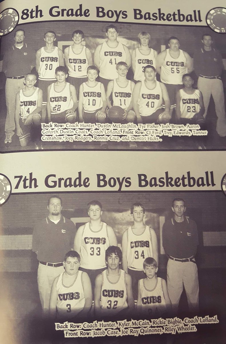 This was my 2nd year teaching/coaching and still one of my favorite groups of kids EVER!  Coach @LoflandScotty was a great mentor.  #GloryDayspic.twitter.com/nJwJFWALP2