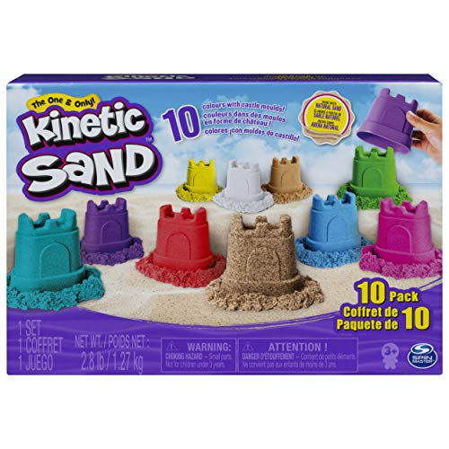 (#Kinetic Sand, Castle Containers 10-Color Pack for Kids Aged 3 and Up, Multicolor) has been published on Knickknack -  #online #shopping