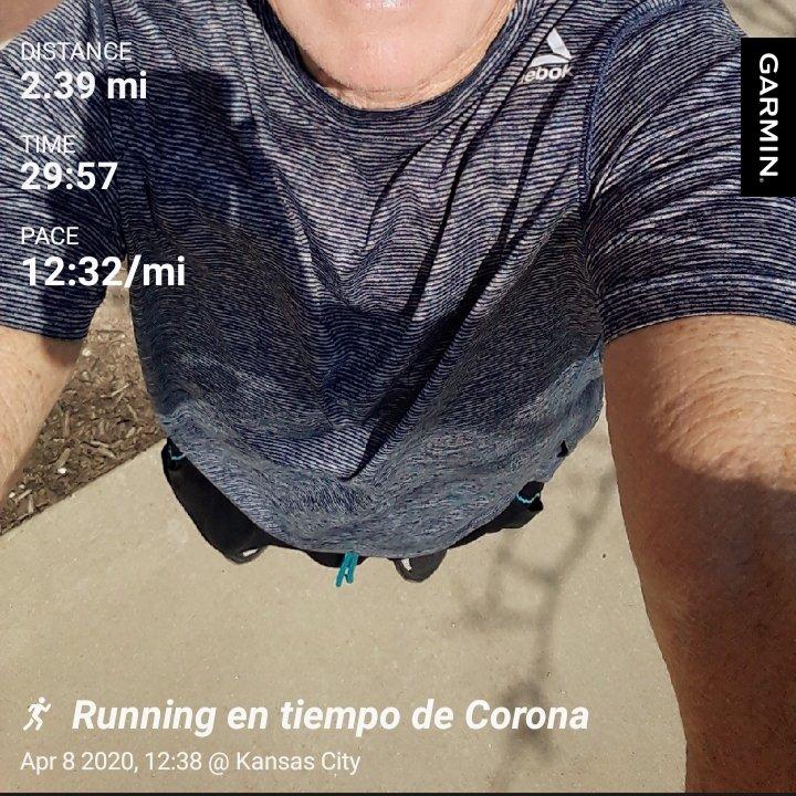 #garmin #beatyesterday #Yoelegicorrer #TKR #runnersknee #Travel #coronavirus #quarantinefifteen Trying in time of Corona!pic.twitter.com/bANVg4ZVSL