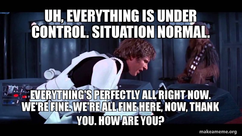 New blog post! How are you handling self-isolation?  #situationnormal #werefine #maybe #notreally