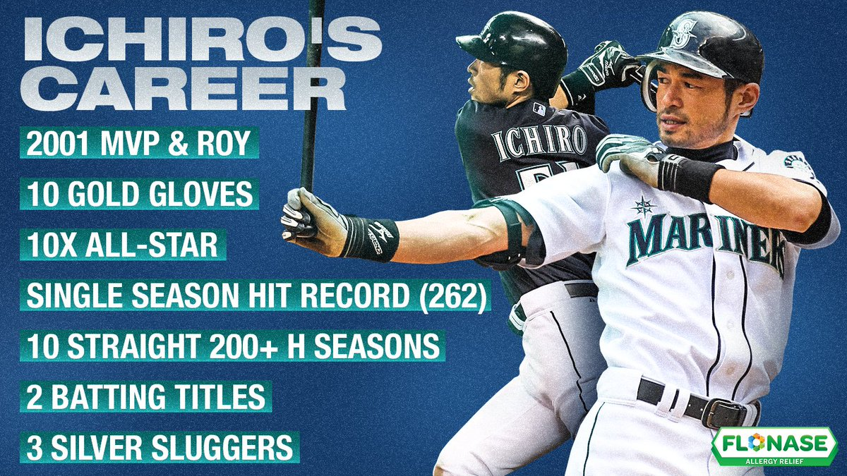 There will never be another Ichiro. Re-watch Ichiro's last game at 7pm ET on @MLB platforms.