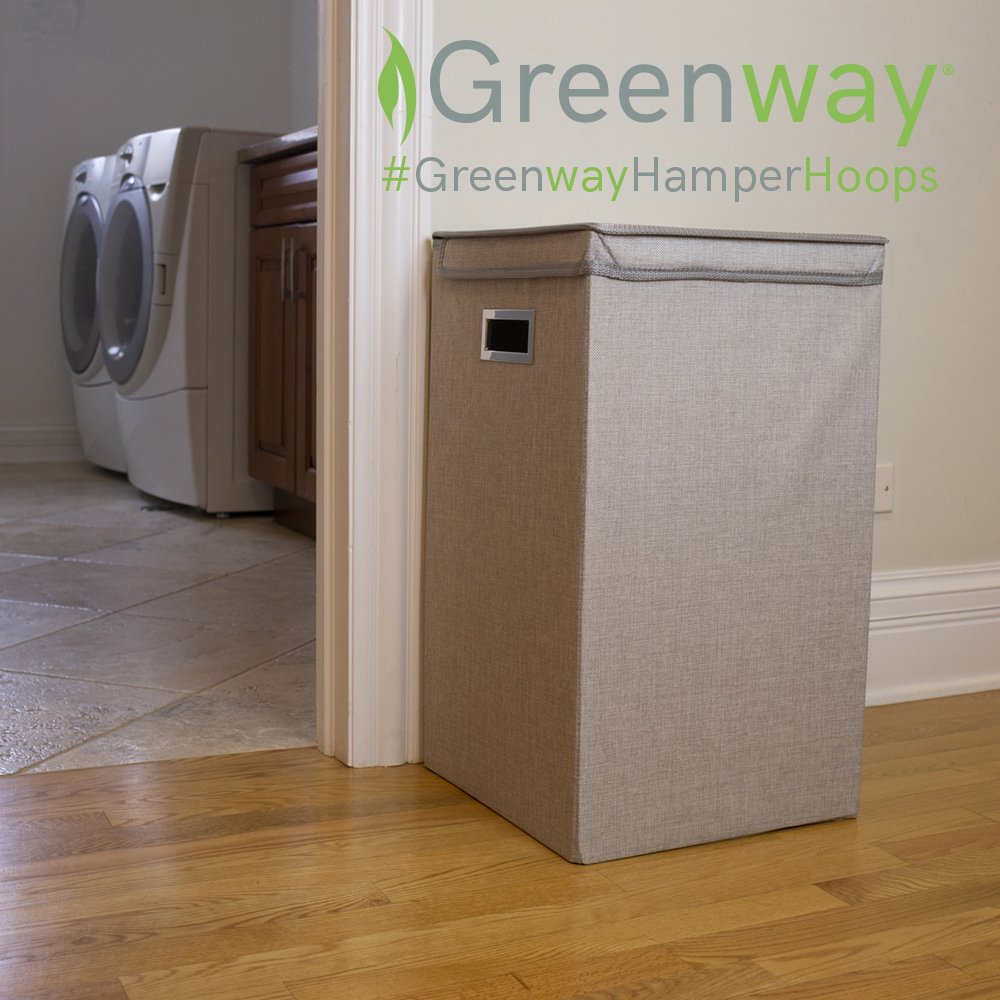 What's your laundry-tossing style? Back to the basket? Turnaround fade away? From way downtown (but still inside your home)? Let us know in the comments, and enter for a chance to win your very own Greenway hamper! Enter here: https://t.co/LQ3oO4syIY #GreenwayHamperHoops https://t.co/XGvsBUwNXP