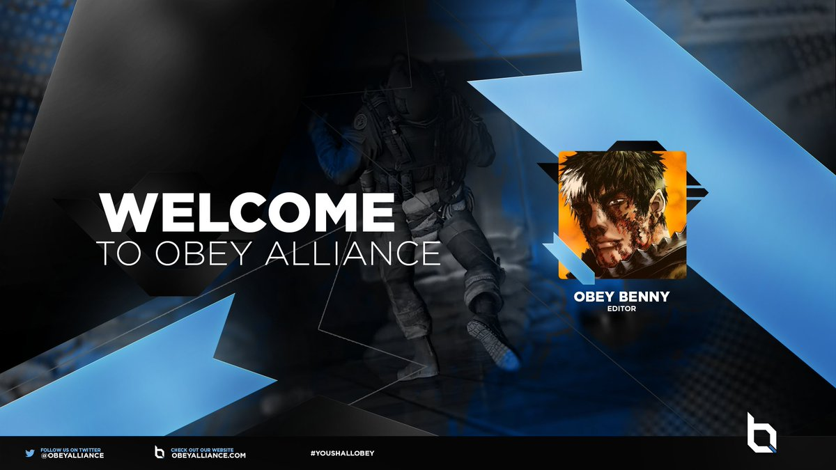 Please welcome @bennyworkshere as our newest editor to Obey! #YouShallObey