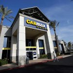 Image for the Tweet beginning: CarMax to furlough 15,500, slash