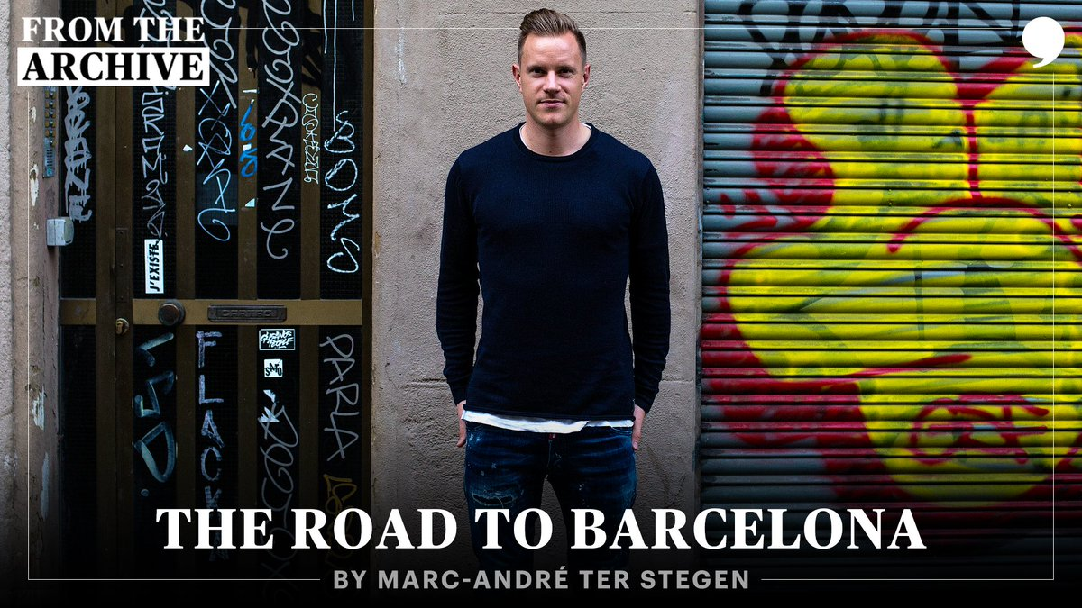 Two years ago, @mterstegen1 chronicled his journey to becoming @FCBarcelonas keeper. It all started with a bloody nose. #TPTArchive 📝: playerstribu.ne/MarcAndreterSt…