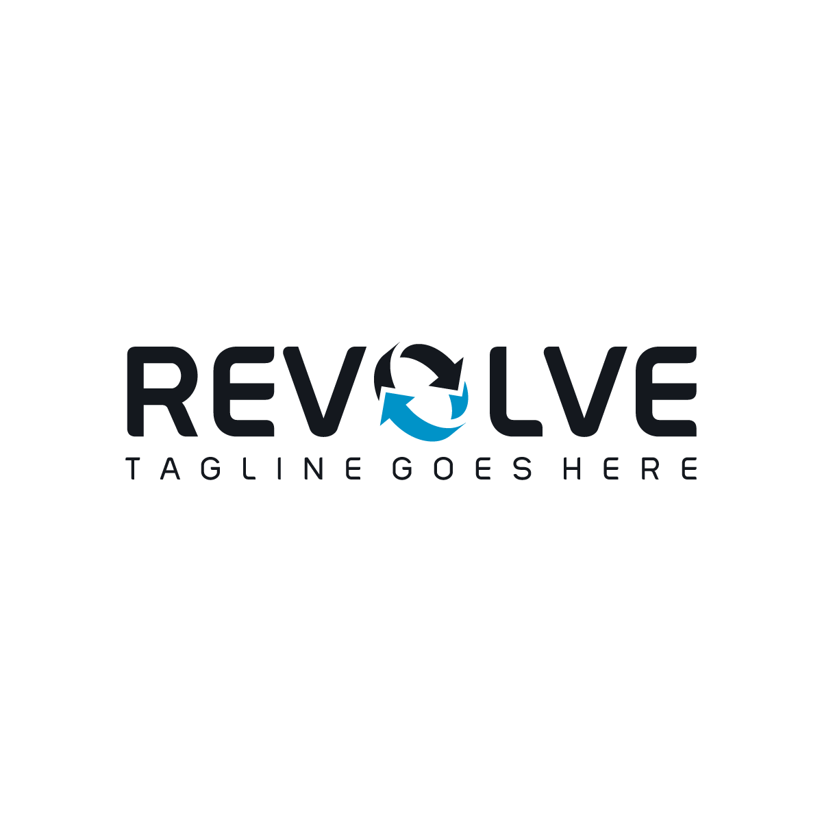 Stylish Revolve Logo Design for Sale   #ScaleBranding #brand #business #capital #company #consulting #Corporate #escrow #financial #investment  #modern #product #Professional #recycling #simple #Stylish #sustainable #unique #ventures #wordmark #new