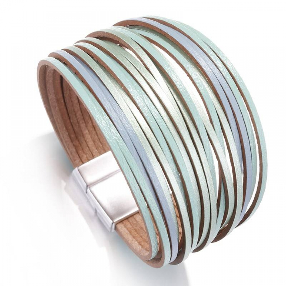 Leather Wrap Bracelet (7 Colors) 17.99$ Get it here:  Like & Follow Us @zenshys  (50%SALE & Much More at ) #shopping #stylish #trendy #elegant #fashion #accessories