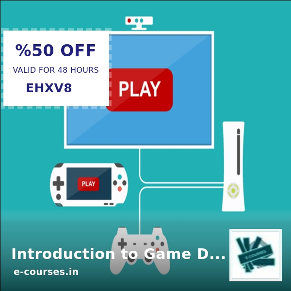 💰 Looking for a steal? Introduction to Game Development with Unity is now selling at Rs. 541.99 💰.  Grab it ASAP   #ecourse #e-courses #elearning